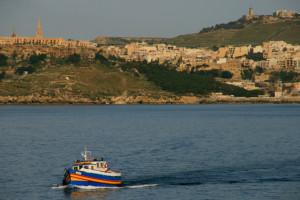 Die Überfahrt von Malta nach Gozo.
