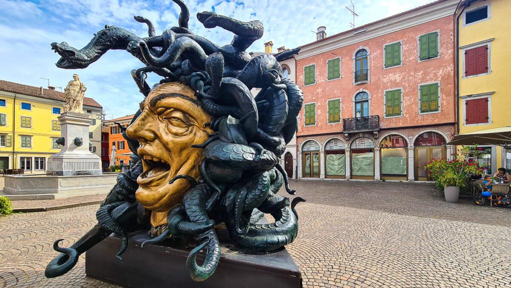 Skulpturen von Alessandro Romano - Medusa