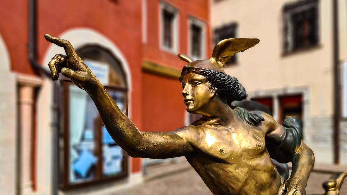Skulpturen von Alessandro Romano in Cividale
