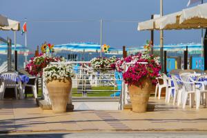 Strandbad Viareggio Toskana Italien