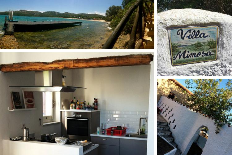 Villa Mimosa Ferienhaus auf Sardinien direkt am Meer