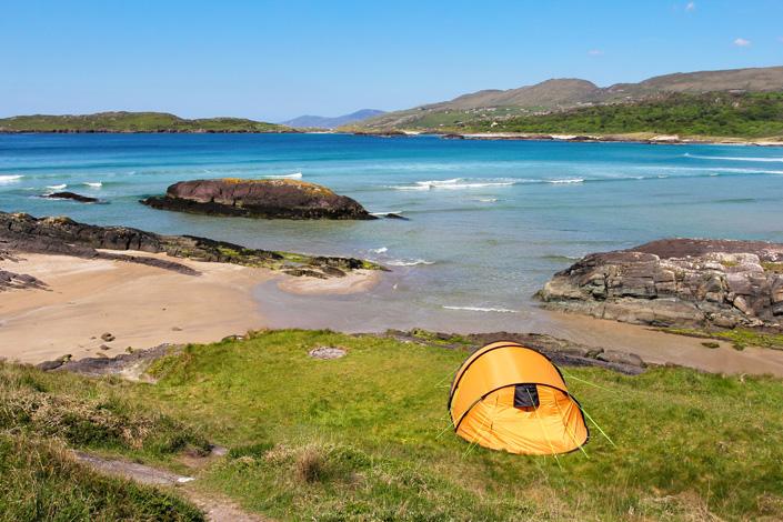 Camping Urlaub Irland