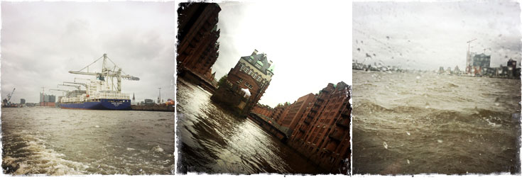 Hamburg Fleetfahrt Binnenalster Hafen