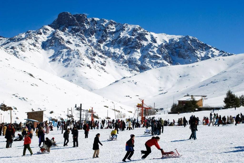 Skilaufen in Oukaimeden