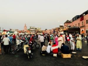 Das lebendige Marrakech