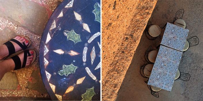 Mosaiktische Marokko