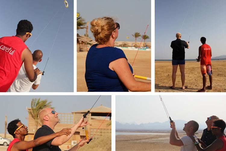 Kiten lernen in Somabay