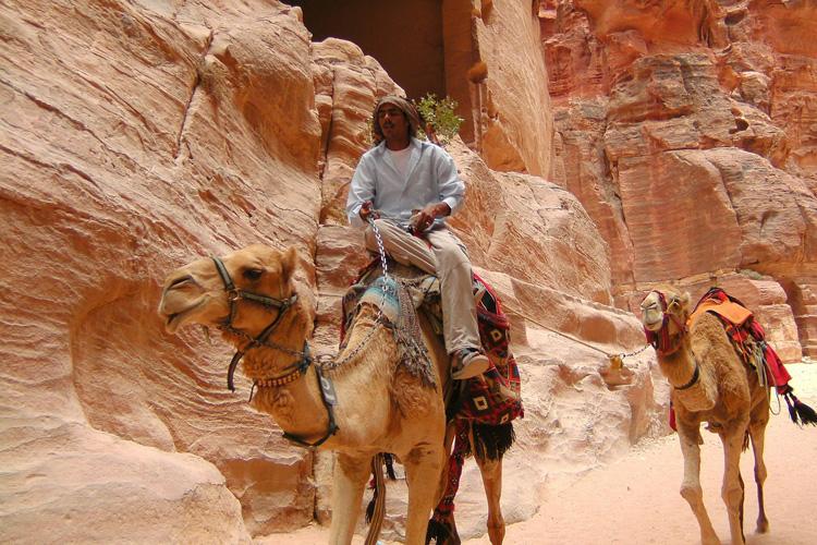 Auf nach Jordanien