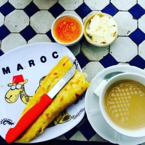 Frühstück in Fes (Marokko)