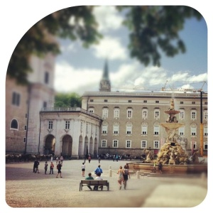 Residenzplatz Salzburg Stadt