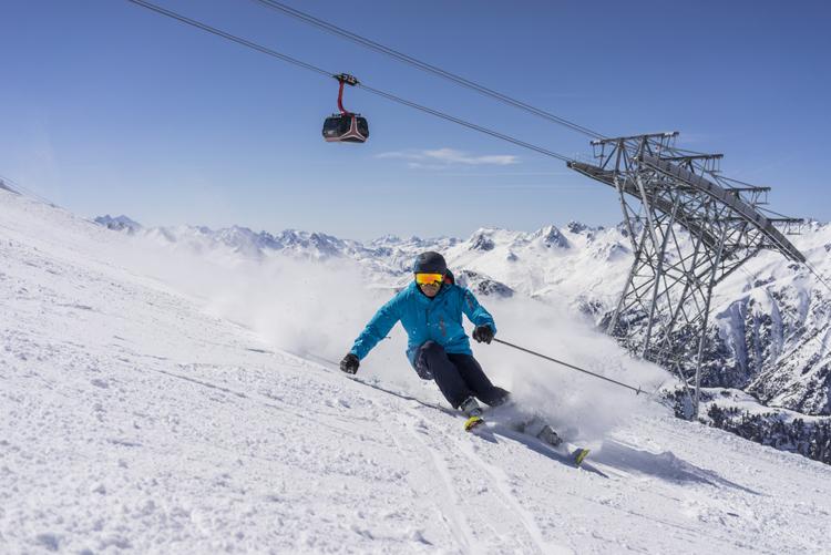 Skigebiet Ischgl Silvretta Arena