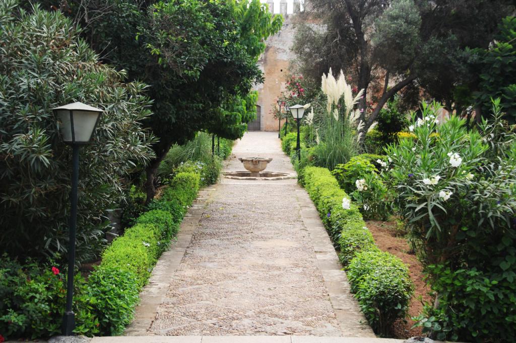 Andalusische Gärten in Rabat