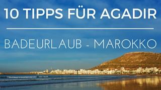 Badeurlaub Marokko Agadir
