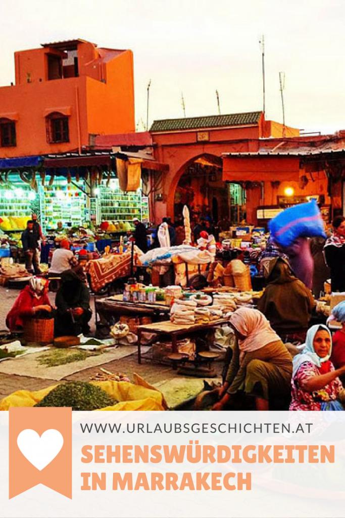 Sehenswürdigkeiten Marrakech