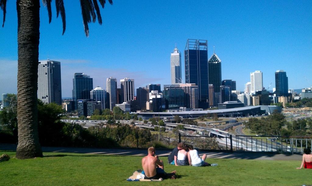 Perth Hauptstadt Westaustralien