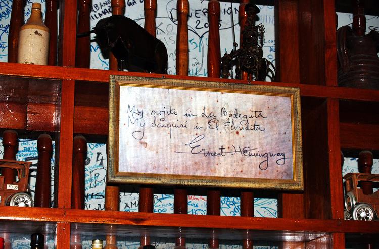 Hemingway Bar Havanna