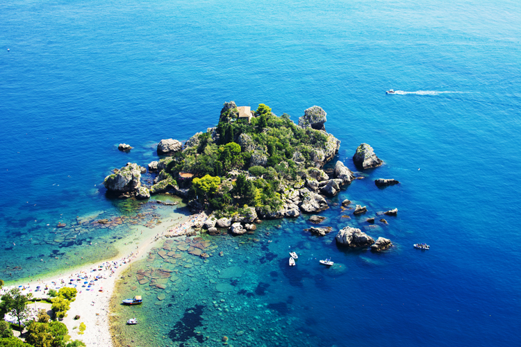 Isola bella Sizilien