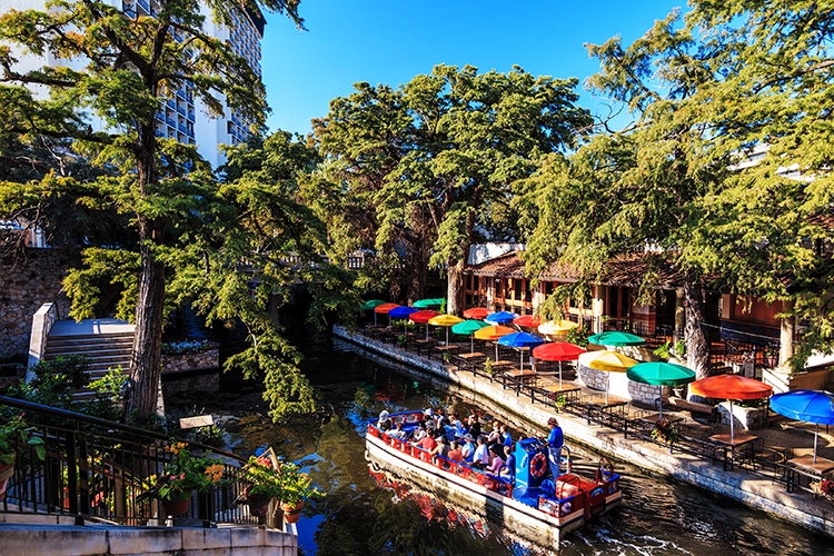 Riverwalk SAN ANTONIO, TEXAS,
