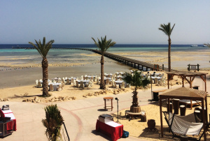 Strand Breakers Somabay Ägypten