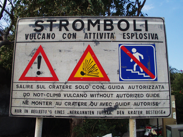 Stromboli Sizilien