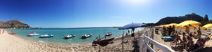 Mondello Beach Palermo