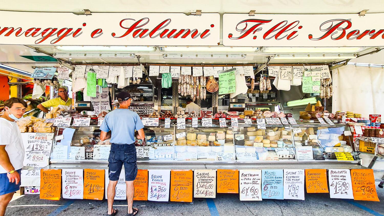 Wochenmarkt Caorle