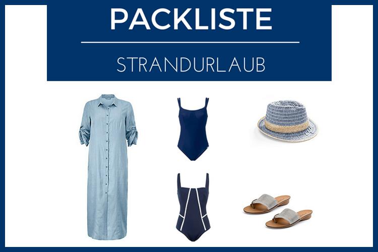 Packliste für den Strandurlaub