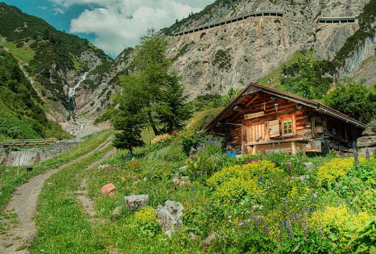 Familienurlaub Österreich auf der Alm