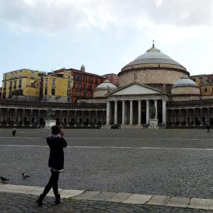 Piazza Pleb Neapel