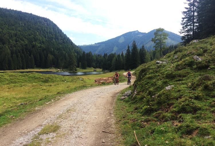 Seewaldsee Mountainbiken