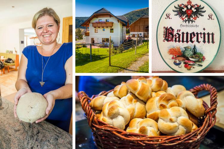 Urlaub am Bauernhof + Brotbacken