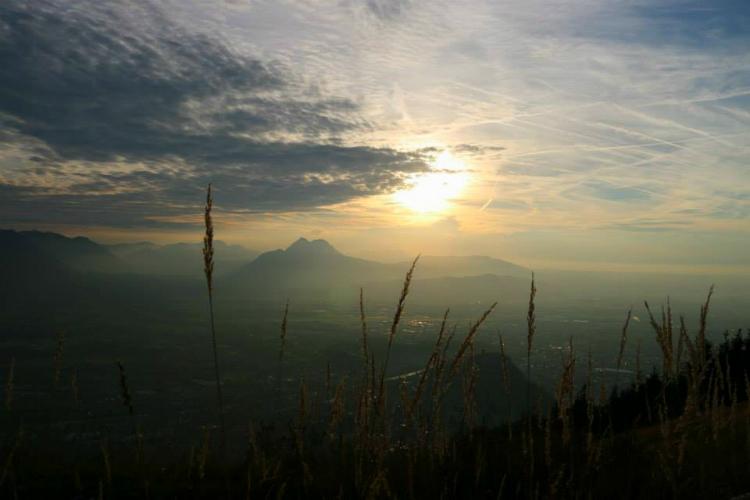 Blick vom Gaisberg auf Salzburg © Daniela Jauernegger
