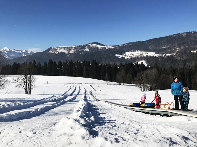 Snowtubing Peternhof Kössen
