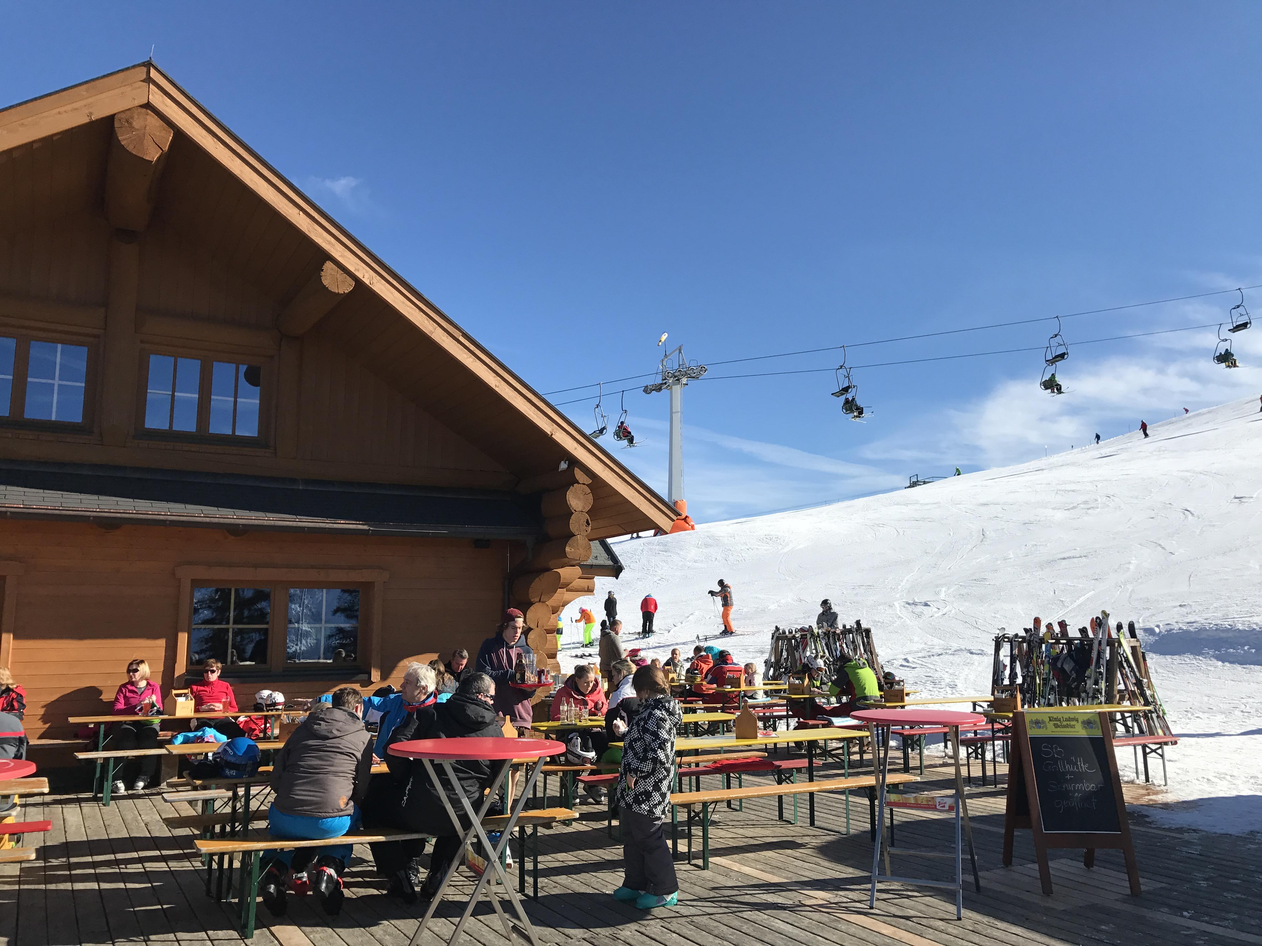 Skifahren Hochkössen