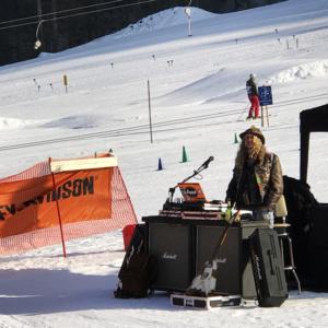 Harley on Snow in Kössen