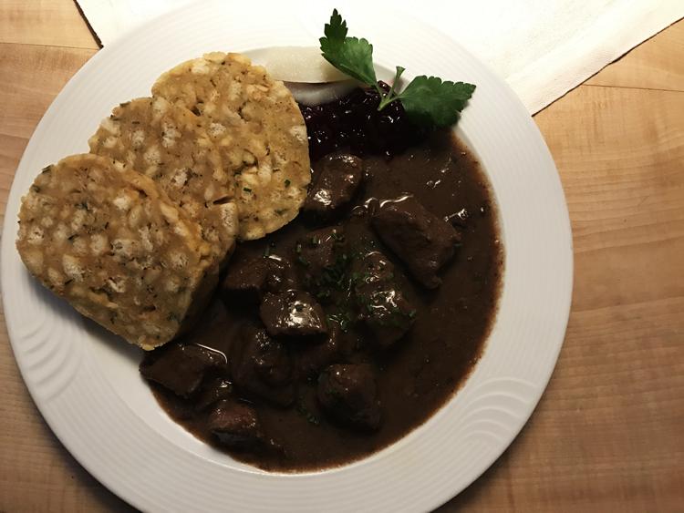 Essen in Hallstatt