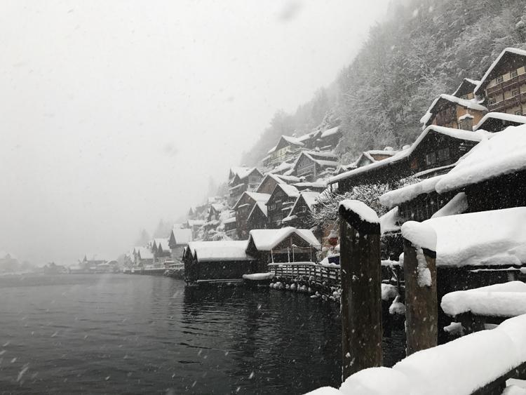 Hallstatt im Winter