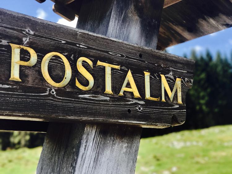 Wandern auf der Postalm
