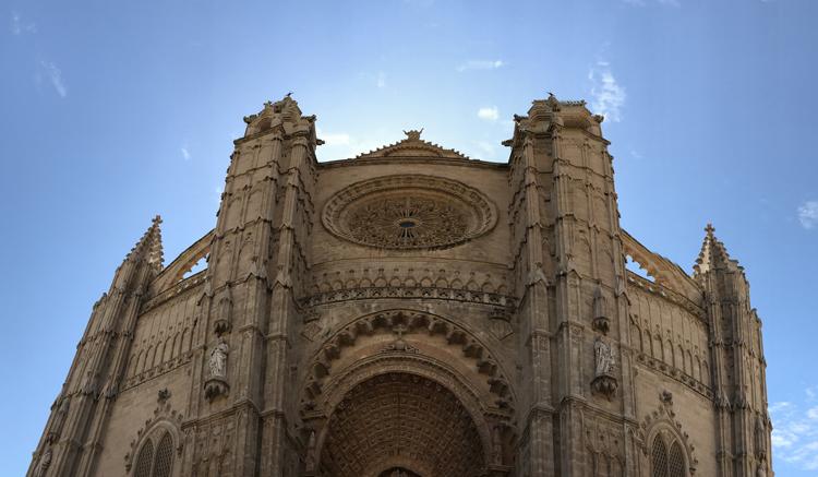Die gotische Kathedrale La Seu in Palma