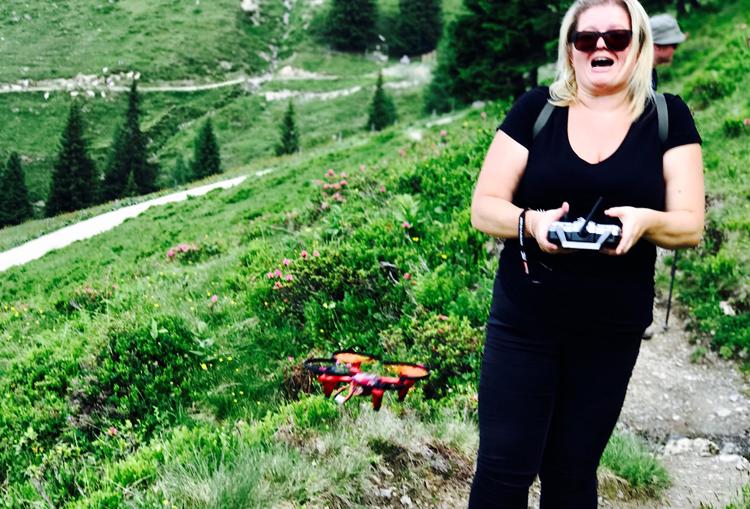Quadrocopter Test