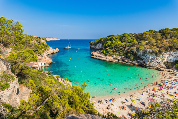Cala Llombards Mallorca Strände