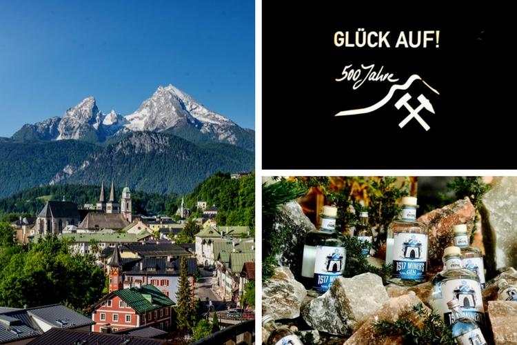 Salzbergwerk Berchtesgaden Miner's Gin 1517