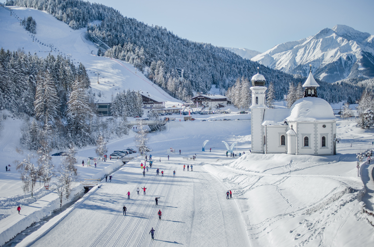 Langlaufen in Seefeld Tirol