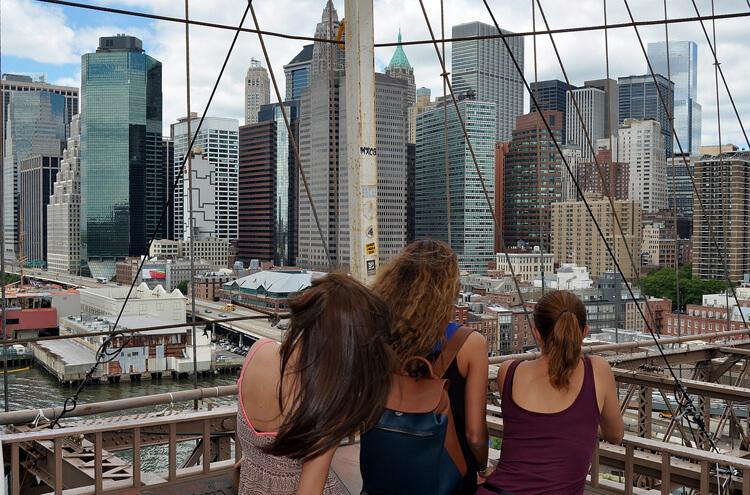 Beliebte Reiseziele New York