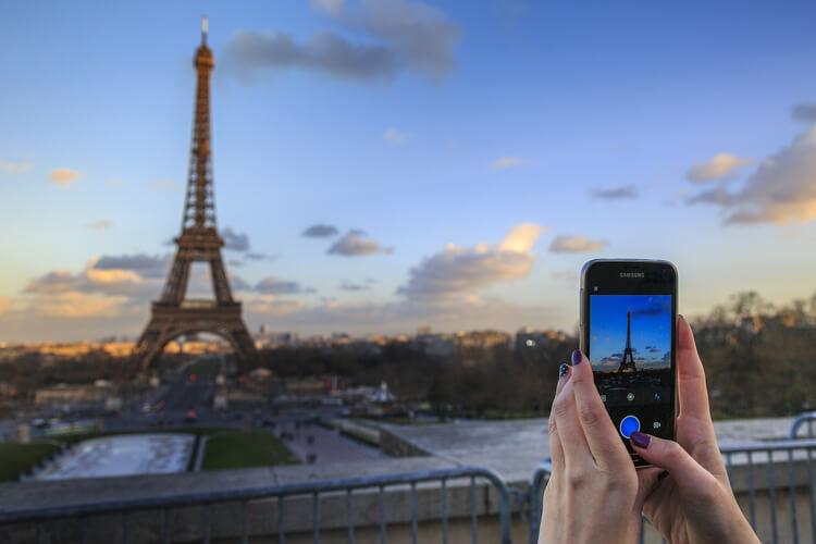 Beliebte Reiseziele Paris