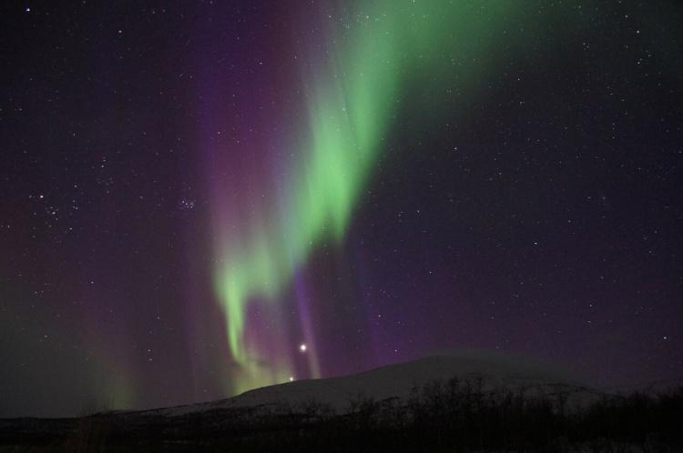 Sehenswürdigkeiten in Schweden Nordlicht