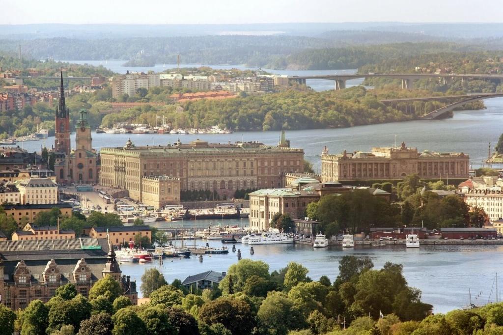 Sehenswürdigkeiten in Schweden Stockholm