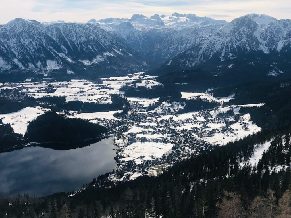 Blick auf Altaussee & Dachstein