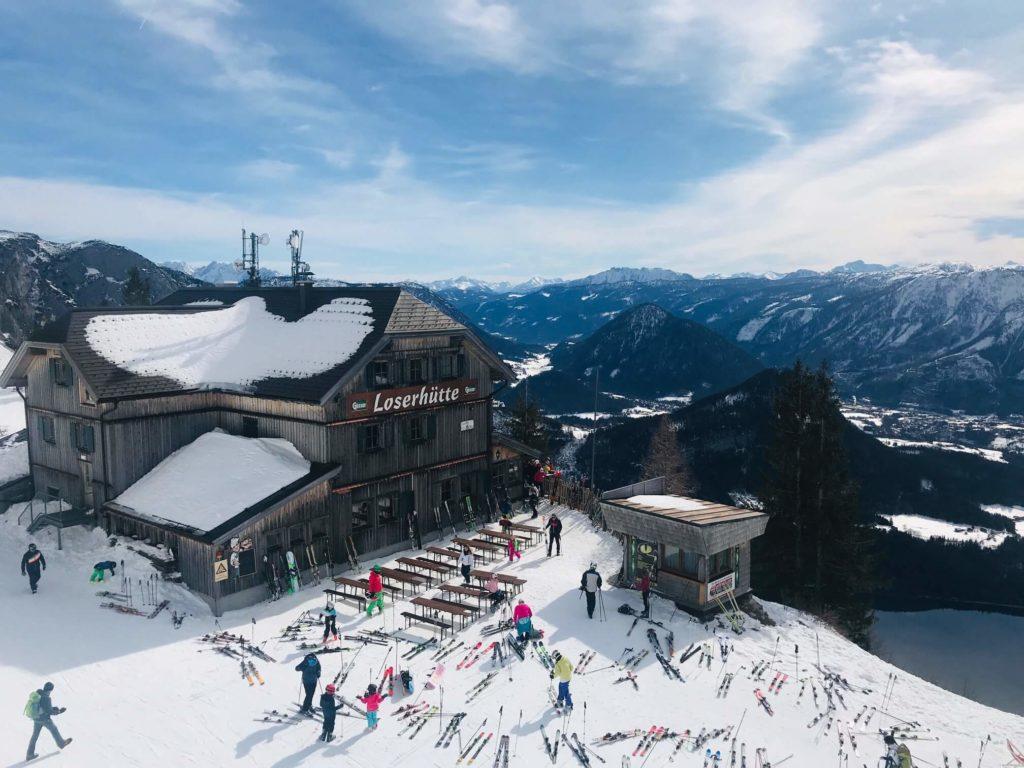 Blick auf den Altausseer See - Loserhütte