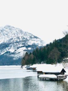Bootshütten am Altauseer See